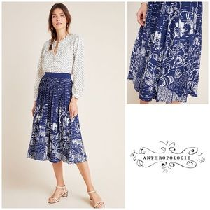 Anthropologie Haven Midi Skirt